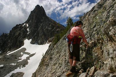 Thompson Peak, Sawtooth Mountains, central Idaho.