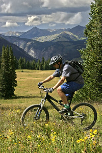 Trail 401, Crested Butte, Colorado.