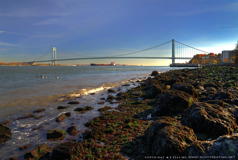 "<b>Verazzno-Narrows Bridge - Staten Island, NY</b> Suitable Sizes: 4x6, 8x12, 12x18, 16x24, 20x30, 30x40 (with cropping)  Please specify ""true color"" when ordering"
