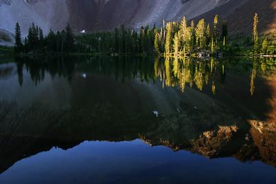 Phyllis Lake, White Cloud Mountains, Idaho.