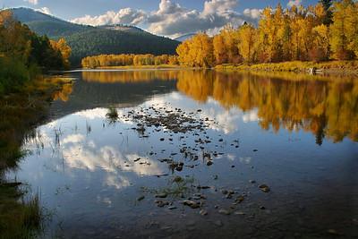 Bitterroot River, Montana.