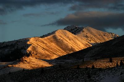 Boulder Mountain foothills near Sun Valley, Idaho.