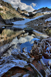 Thompson Peak, Sawtooth Mountains, Idaho.