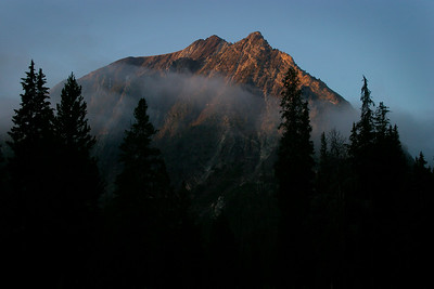 Unnamed peak, White Cloud Mountains, Idaho.