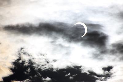 Solar eclipse, May 18, 2012. Boise Idaho.