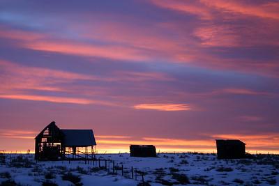 Camas Prairie, Idaho.