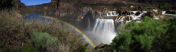 Shoshone Falls, southcentral Idaho.