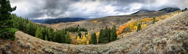 Boulder Mountains, central Idaho.