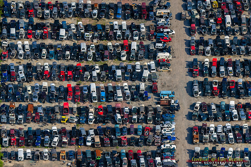 "Al Gluek's Pick-a-Part  auto salvage yard 4801 Preymore St, Osprey, FL 34229<br> <a href=""http://www.gettyimages.com/detail/photo/vehicle-salvage-yard-in-florida-royalty-free-image/149473869"">Available for licensed use</a>"