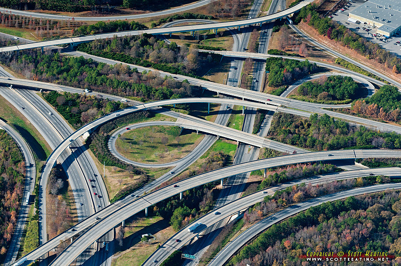 "The i285/i85/S.Fulton Parkway interchange in Atlanta, GA<br> <a href=""http://www.gettyimages.com/detail/photo/interchange-in-atlanta-royalty-free-image/147871004"">Available for licensed use</a>"
