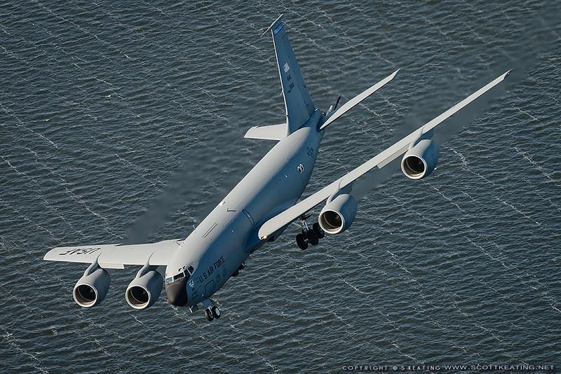 USAF KC135 38011