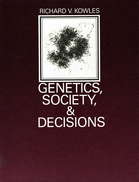 Book Cover - 1985, Chromosome #18 Micrograph