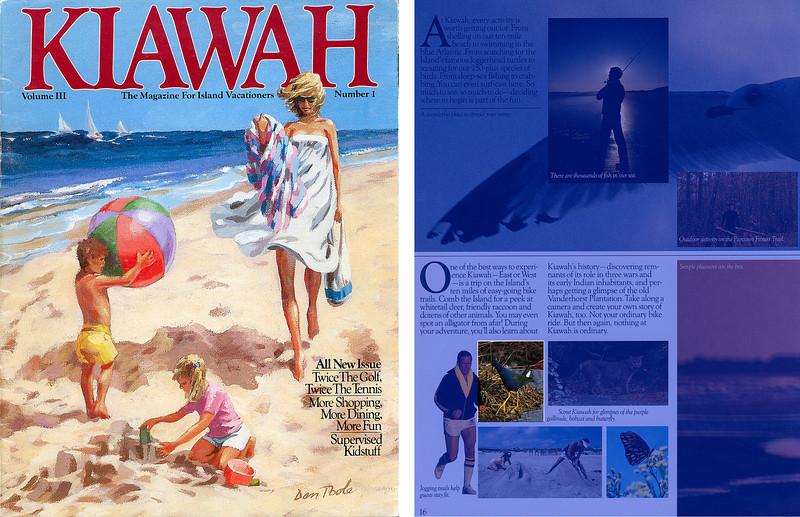 Kiawah Magazine - 1987, Purple Gallinule