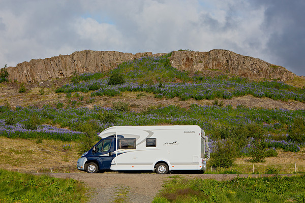 RVing in Iceland