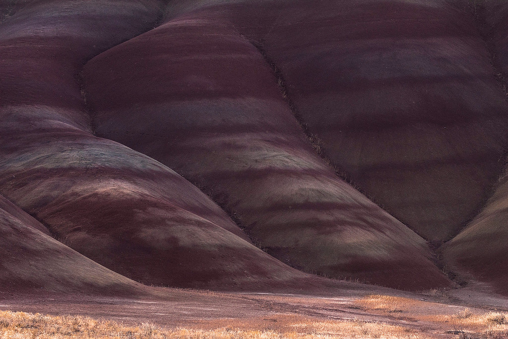 Colored Strata, Painted Hills Unit, John Day National Monument, Oregon