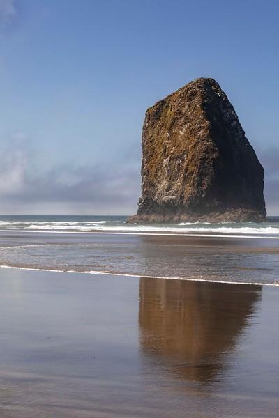 Sea stack, Arcadia Beach State Park, Oregon