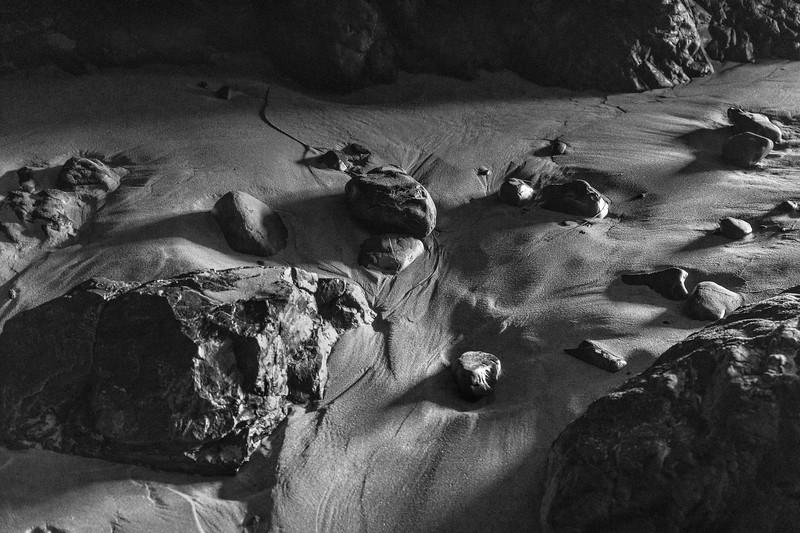 Cave floor detail, Crescent Beach, Ecola State Park, Oregon