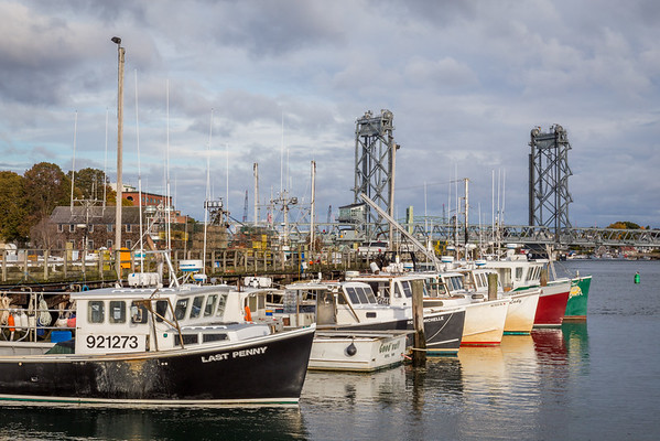 Fishing boats Portsmouth, NH