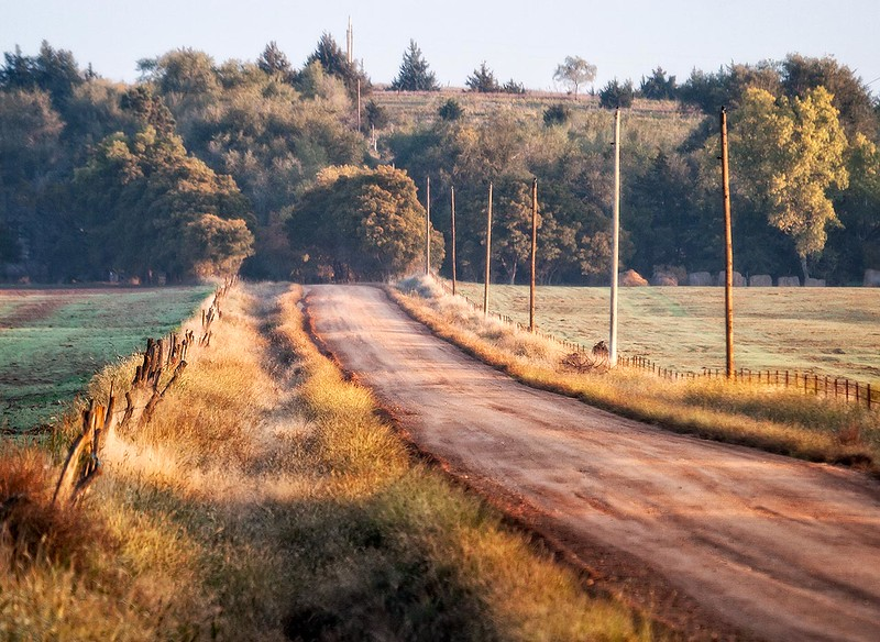 Autumn Morning, Barber County