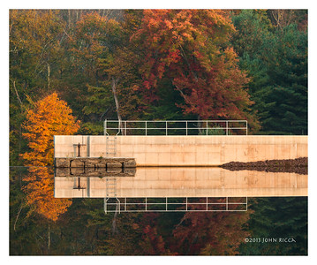 Dam At Lake Joseph, New York