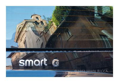 Car Reflection, Rome