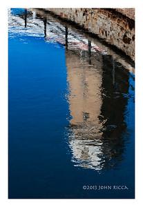 Ottawa Tower Reflection