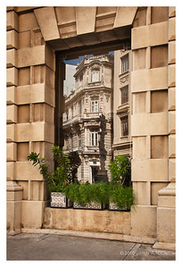 Havana Street Reflection