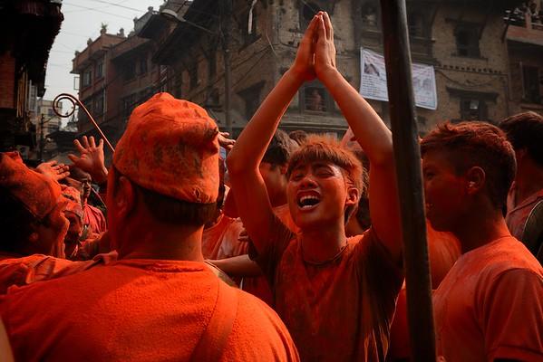 Sindur Jatra: joy of the festival