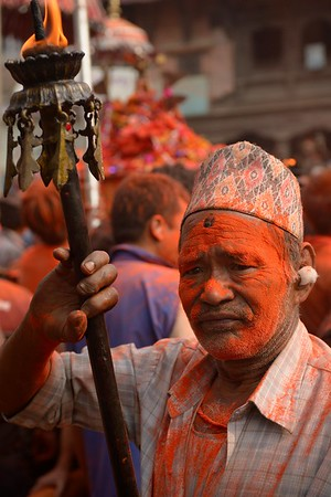 Sindur Jatra: carrying holy fire