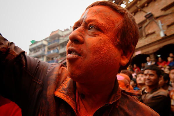 Sindur Jatra: a face in the crowd