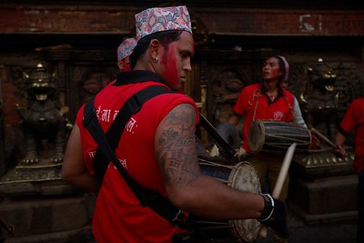 drummer near Bhairabnath temple