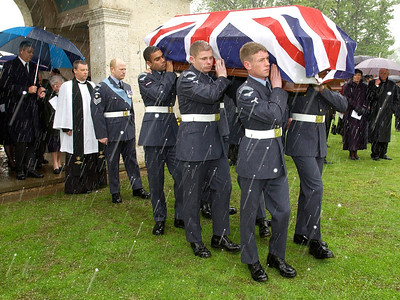 The Reburial of Wing Commander Adrian Warburton