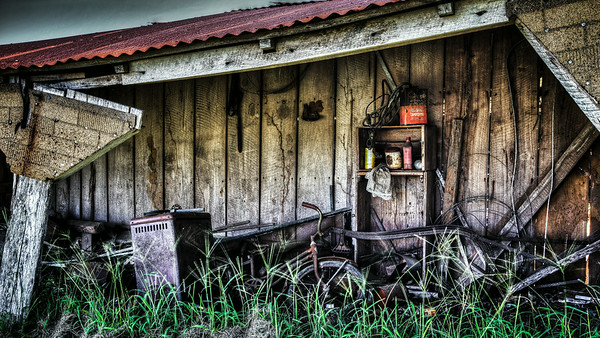Forgotten Tool Shed 1