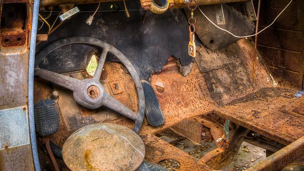 Rusted Floor Pan