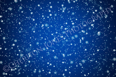 Pretty Bllue Night Sky and Stars Background