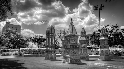 Downtown Park Statues 1