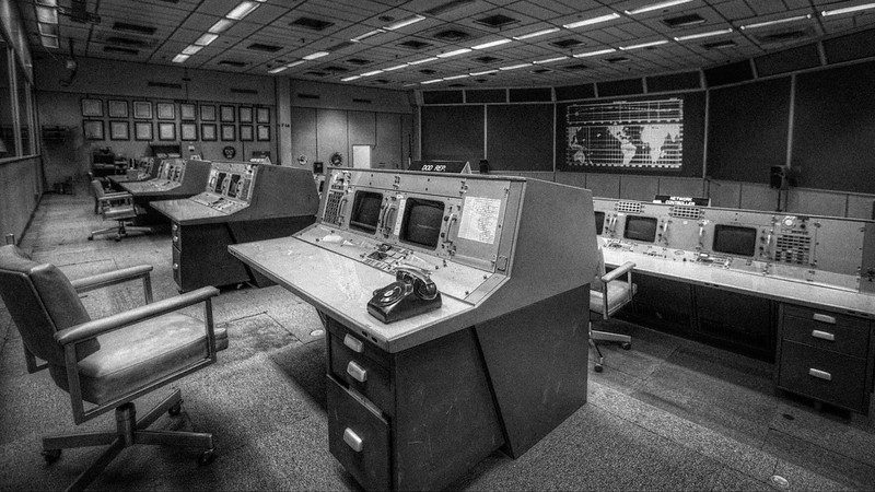 Apollo Era Mission Control - NASA Houston