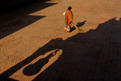 sweeping shadows