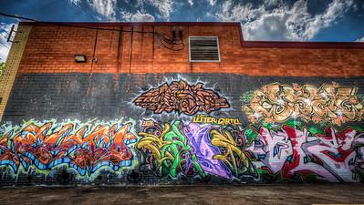 Midtown Graffiti Wall