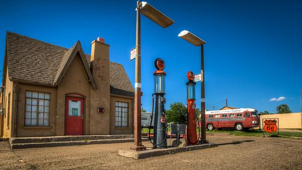 Postcard Station