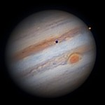 Jupiter & Io 2016-04-30,  03:56:33 UTC