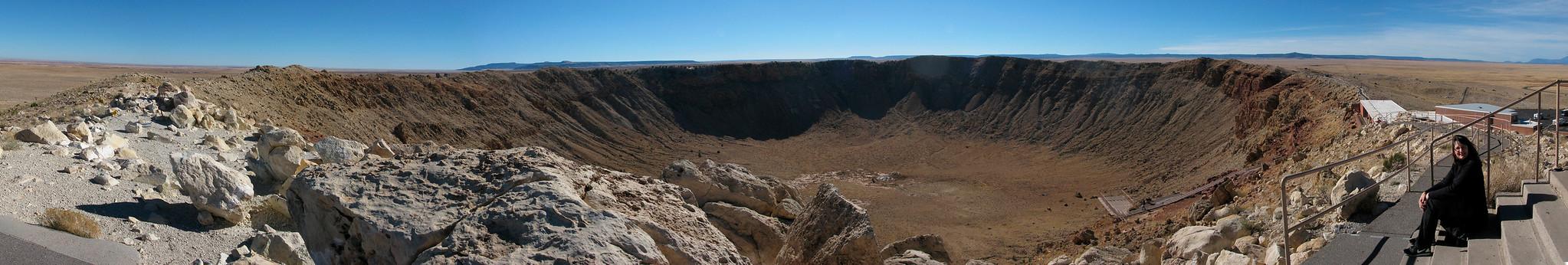 Earth, Meteor Crater, Arizona, 2012-12