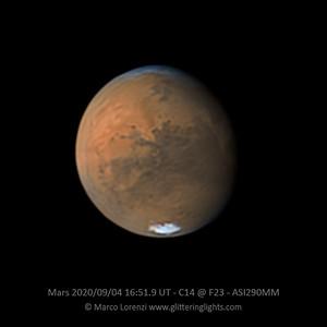Mars on September 4, 2020