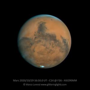 Mars on October 29, 2020