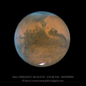 Mars on October 17, 2020