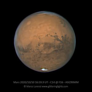 Mars on October 10, 2020