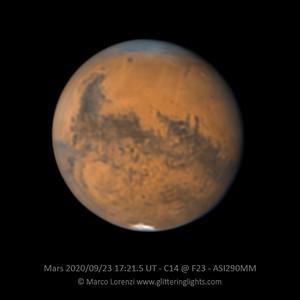 Mars on September 23, 2020