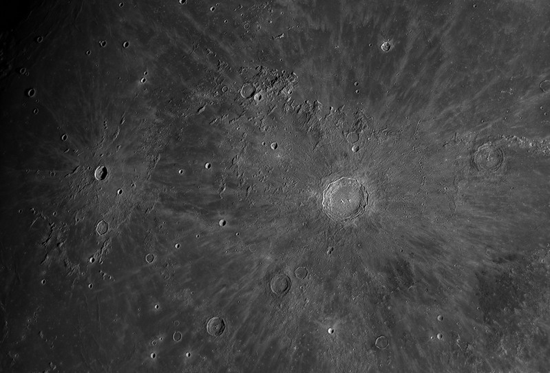 Craters Copernicus and Kepler