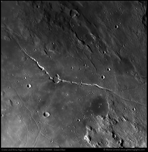 Crater and Rima Hyginus