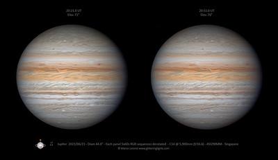 Jupiter on June 23, 2021